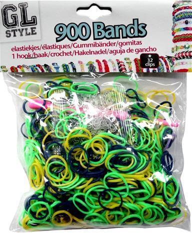 Loom Bands Grøn og gul