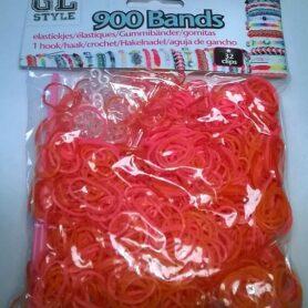 Loom Bands Orange og rød