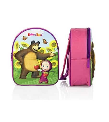 Masha og bjørnen rygsæk