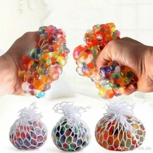 squishy mesh ball - squish mesh bold