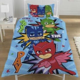 PJ Mask - Pyjamashelten sengetøj