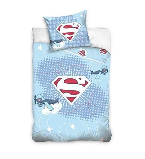 Superman junior sengetøj