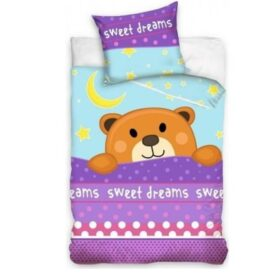 Sweet Dreams junior bamse sengetøj