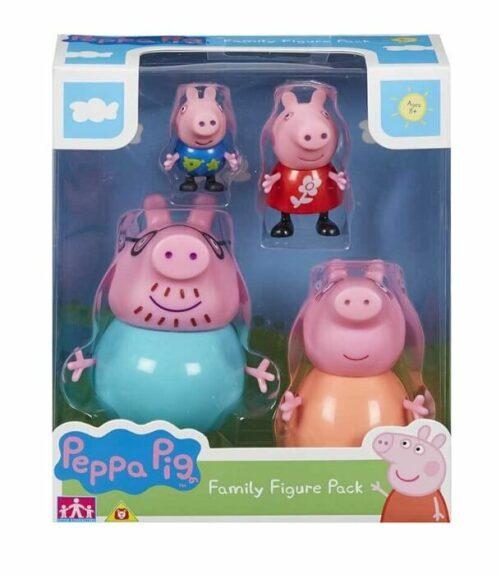 Gurli Gris legetøj - figurer-familien