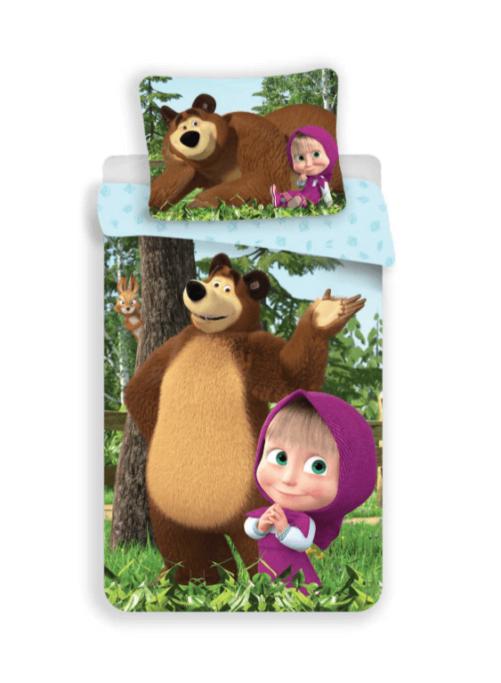 Masha og Bjørne sengetøj 02jj