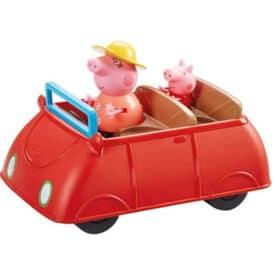 Gurli Gris store røde bil