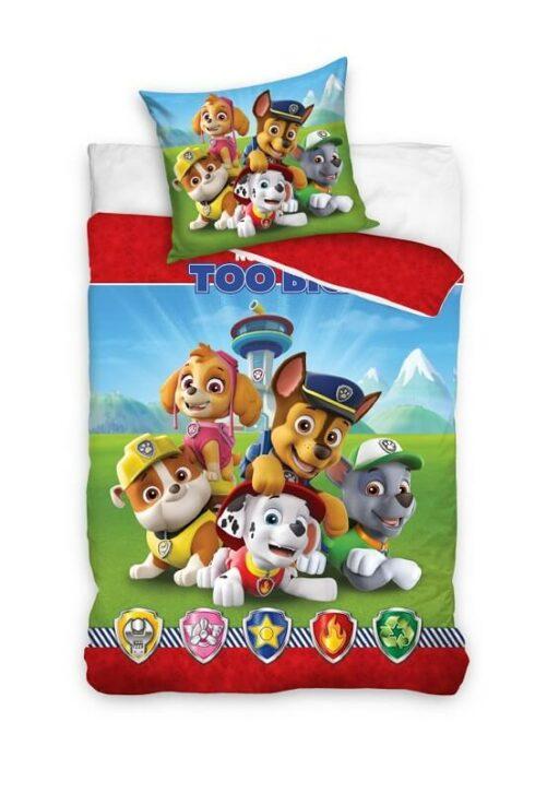 paw patrol sengetøj 140-200 bomuld