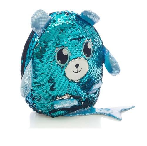 Fisk blå rygsæk 2