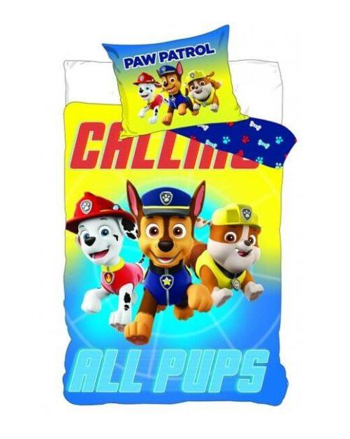 Paw Patrol all pups sengetøj
