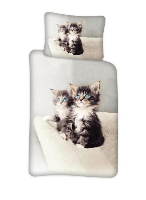 sengesæt med kattekillinger - sengetøj kat