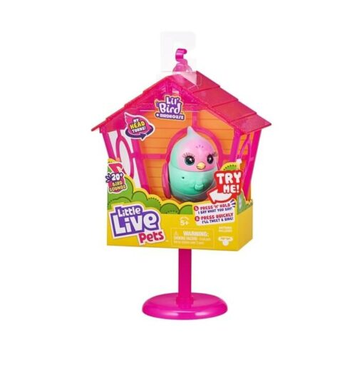 Little Live Pets Fugl i Bur - Sweet Tweets Pippa Peeps