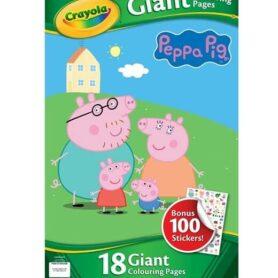 Gurli Gris malebog - gigant med stickers