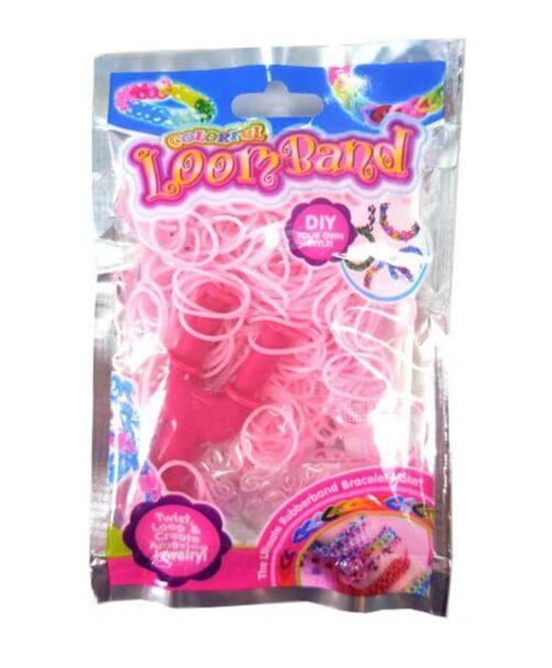 pink loom bands