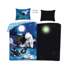 Sådan træner du din drage sengetøj - glow in the dark