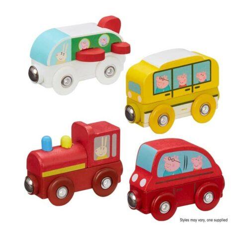Gurli Gris køretøjer i træ