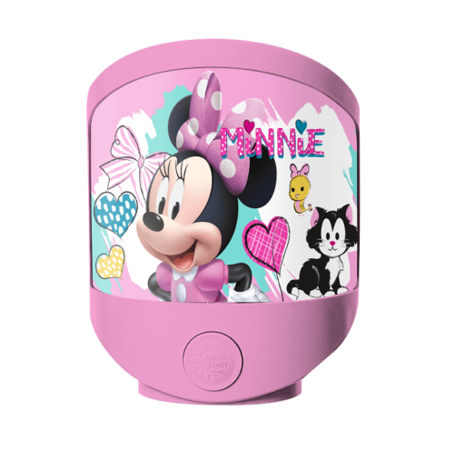 Minnie Mouse Natlampe