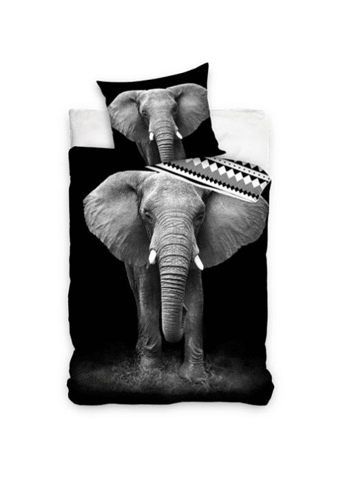 NL201032 - Elefant sengetøj