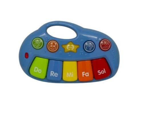 Lille keyboard blå