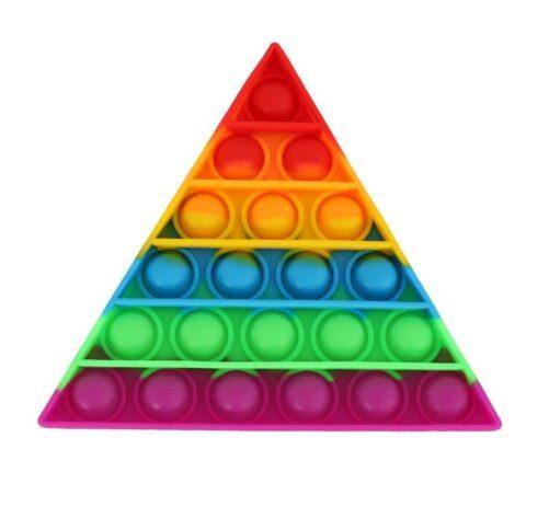 Pop It - Triangle - Rainbow