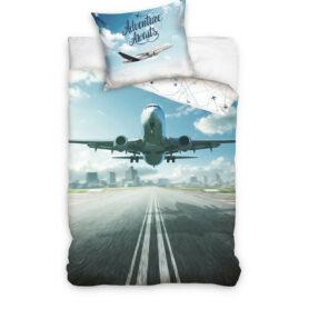 Sengetøj med flymotiv