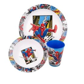 Spiderman spisesæt