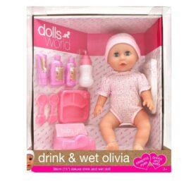 Drikke tisse dukke - Baby Olivia