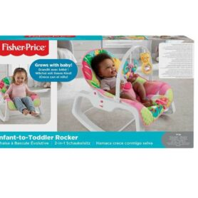 Fisher-Price, Vibrerende Babysitter - Lyserød3