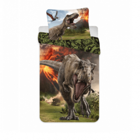 jurassic-world-volcano sengetøj