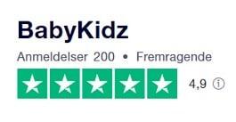 BabyKidz.dk TrustPilot