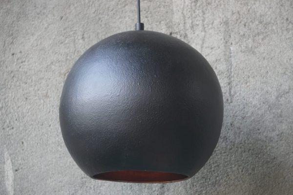 Original Sort Oxideret Balilamper Ø35cm