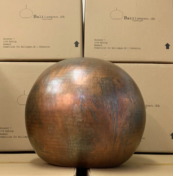 Original Bruneret Oxideret Balilamper