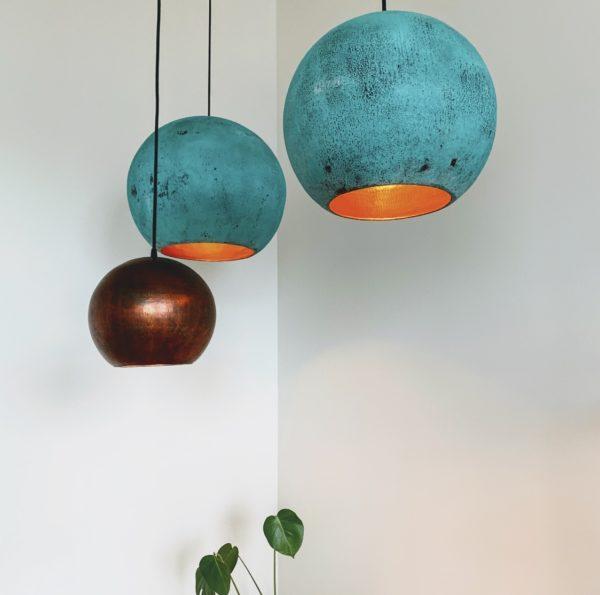 Original Oxideret Balilampe