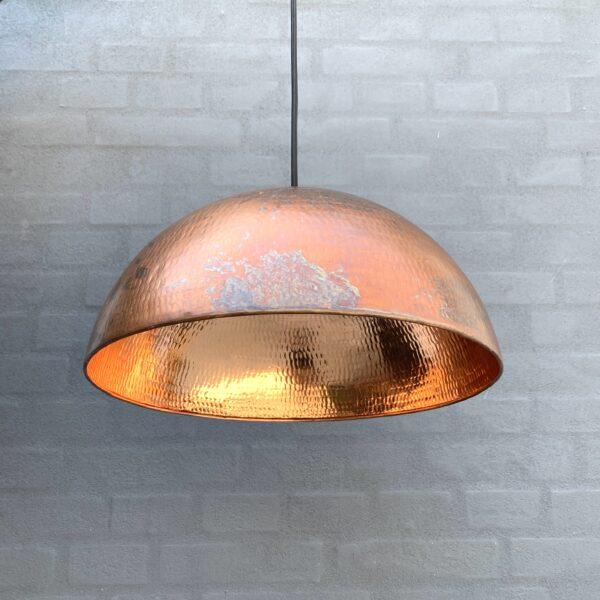1 stk Original BALIMOON Bruneret Kobberlampe