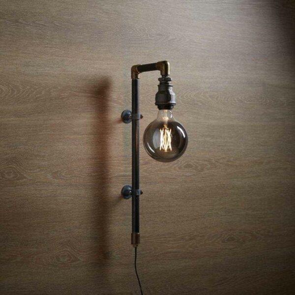 Original WallPipe Black Edition Væglampe i Sort