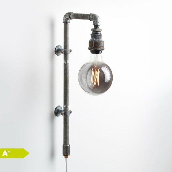 Original WallPipe Grey Edition Væglampe i Grå