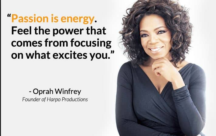 passion is energy