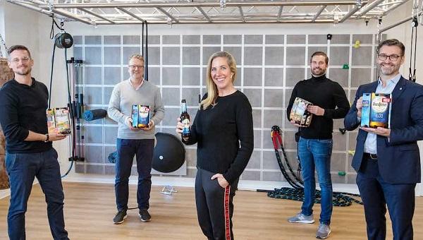 Warsteiners ledningsgrupp med Marcus Wendel (marknadschef), Michael Grupp (distributionschef handel), Catharina Cramer (ägare), André Hilmer (distributionschef restauranger) och Christian Gieselmann (talesperson för ledningen).