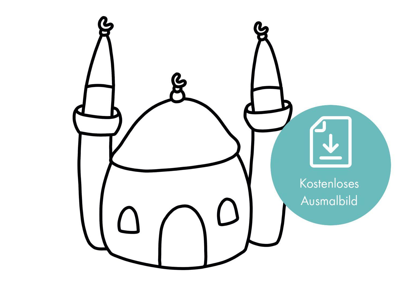 Moschee Ausmalbild
