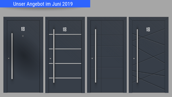 Haustüraktion Juni 2019