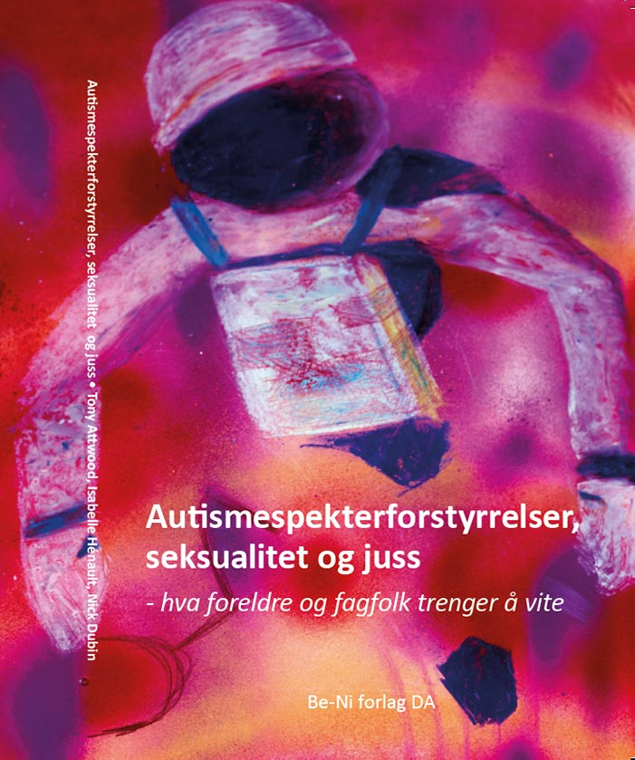Forside bok Autismespekterforstyrrelser - seksualitet og jus