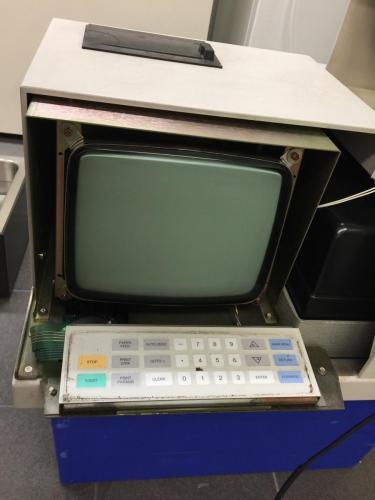 Spektrofotometern byggs om