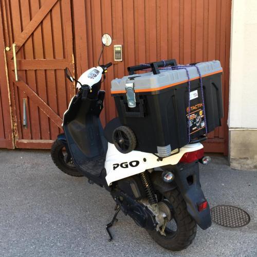 BeerLab åker helst moped
