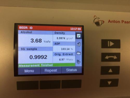 Anton-Paar Alex500 för ABV