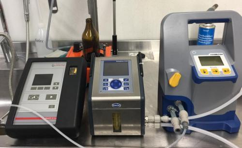 Jämför 3 instrument för syremätning
