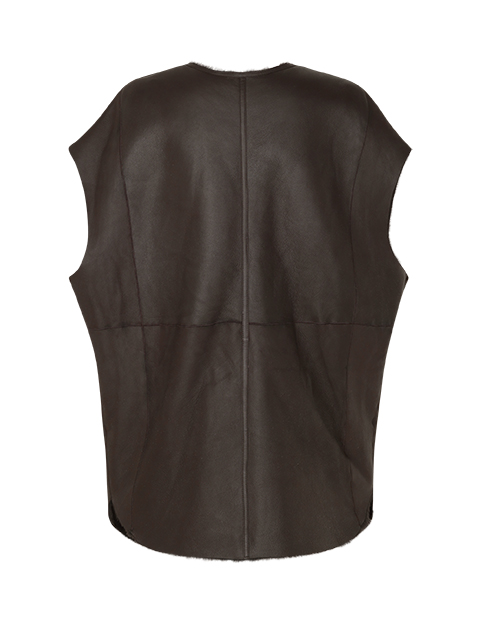 LULU – Brown silk