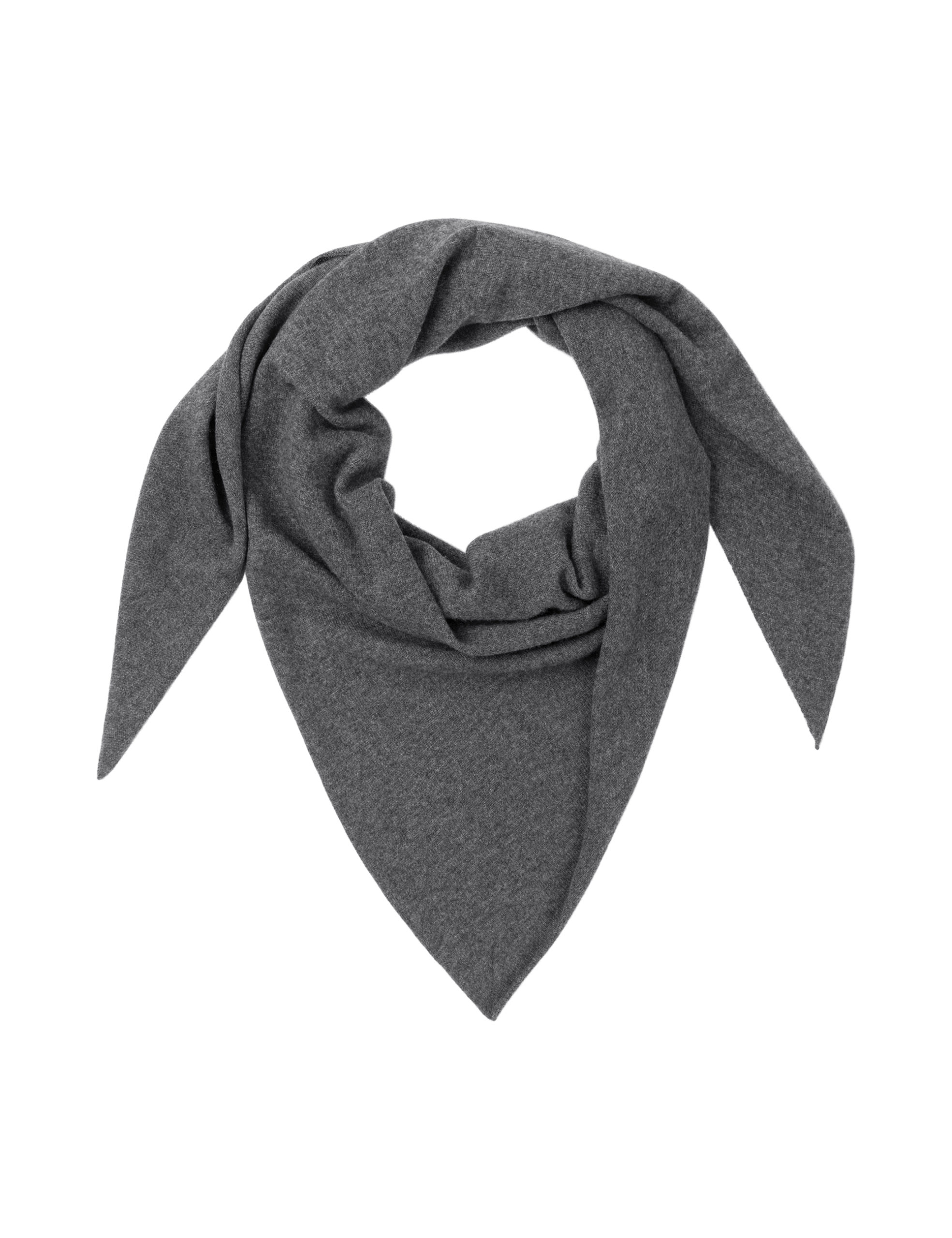TRIANGLE SCARF – Charcoal