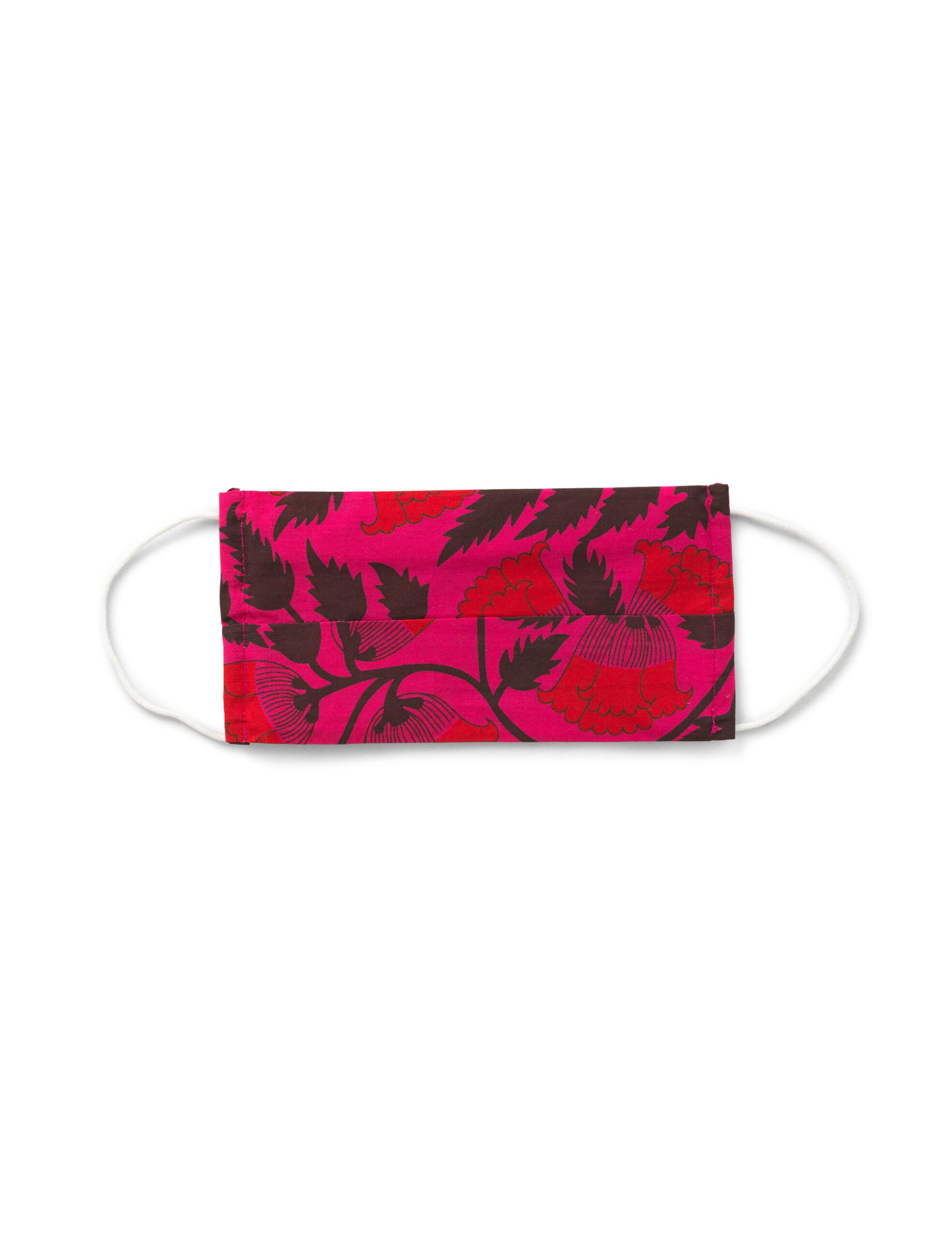 Mundbind – Pink flower