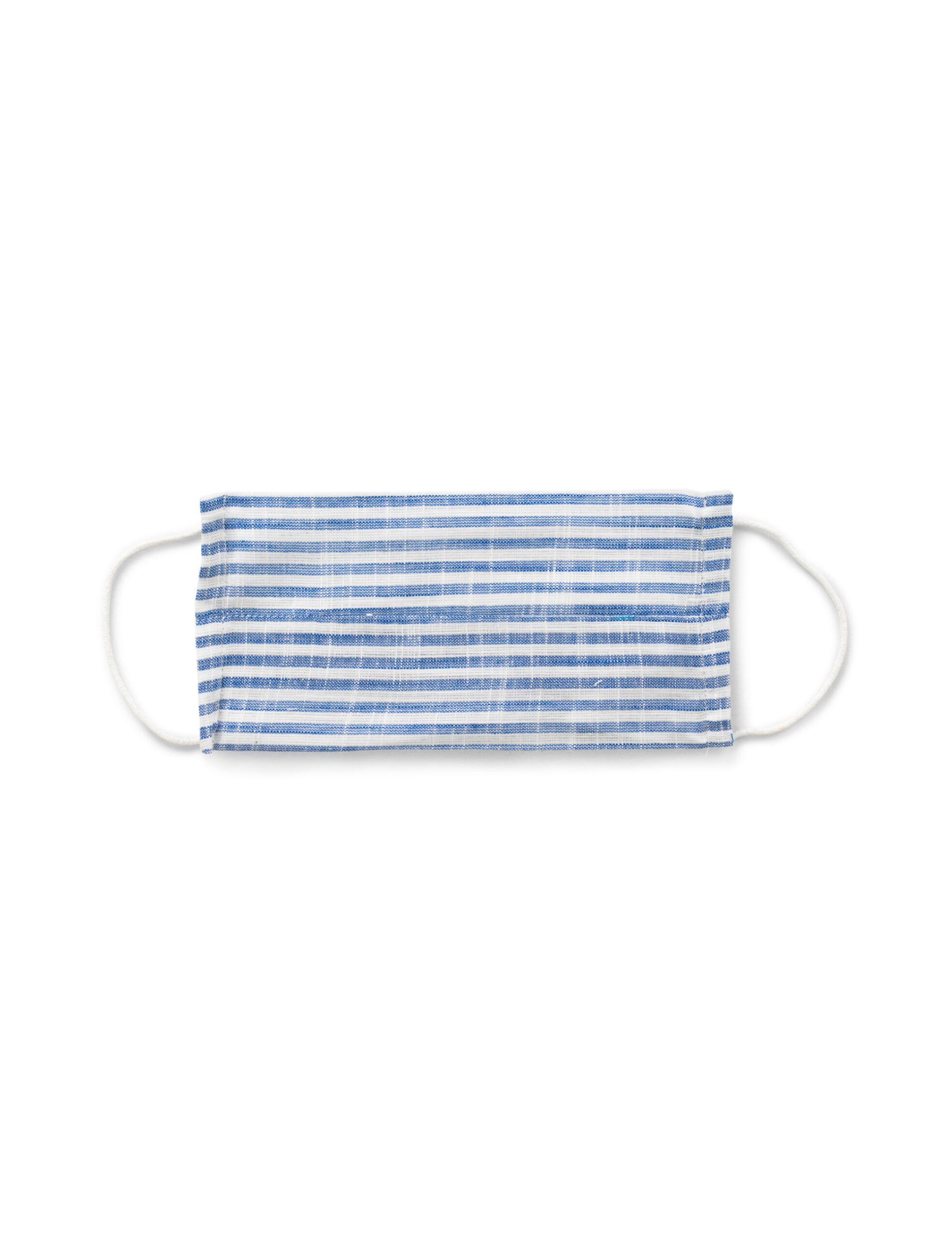 Mundbind – Light blue stripes