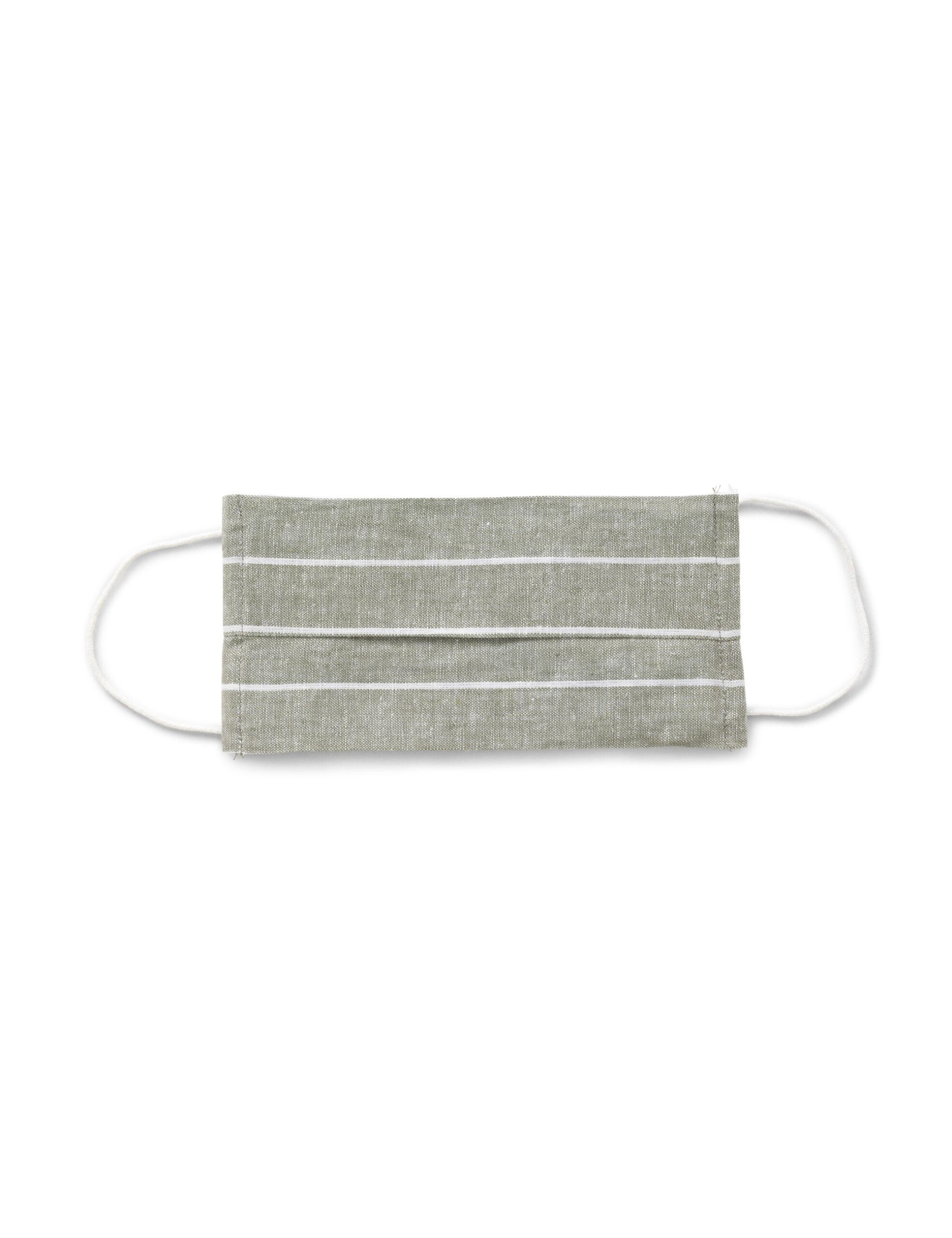 Mundbind – Green stripes