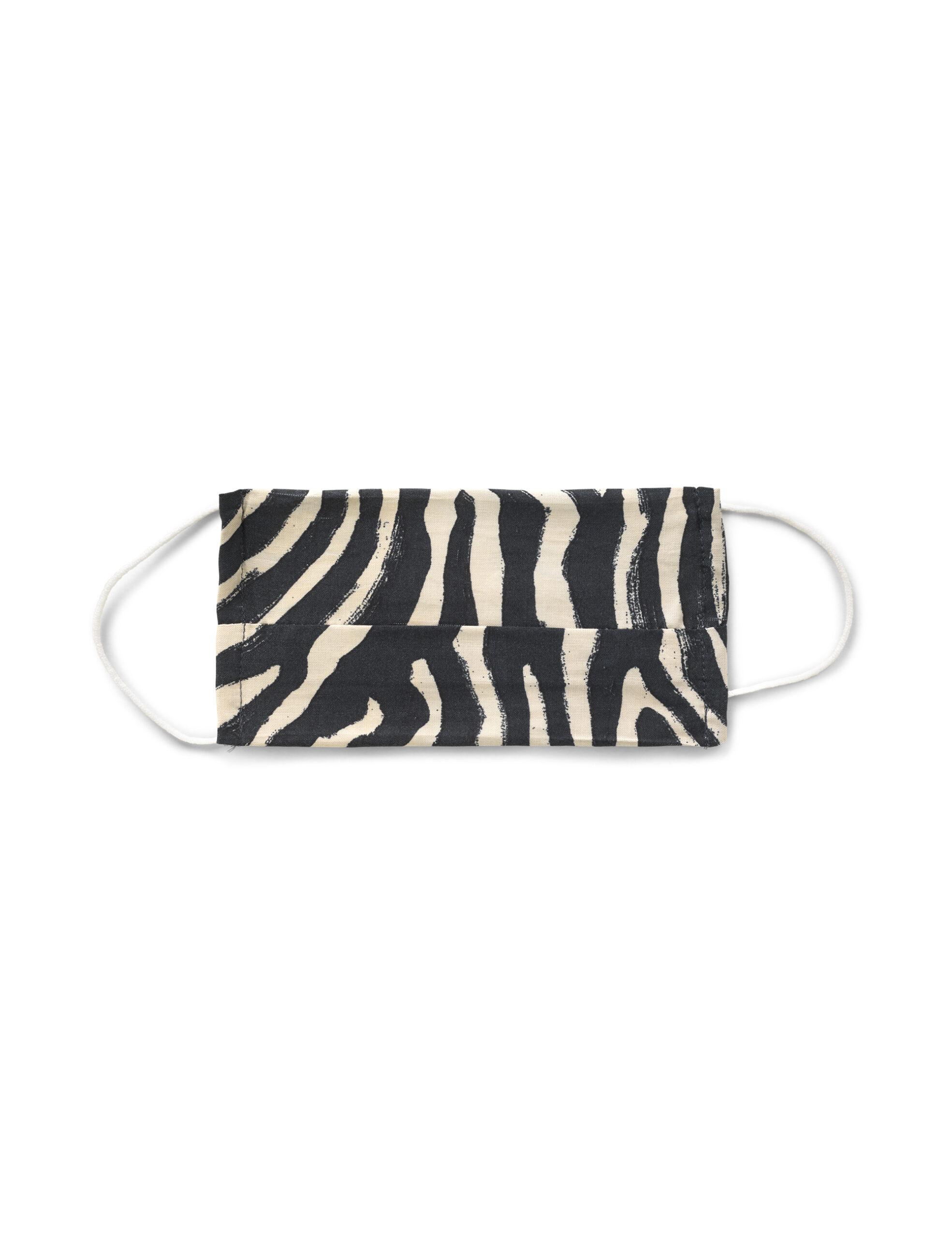 Mundbind – Zebra